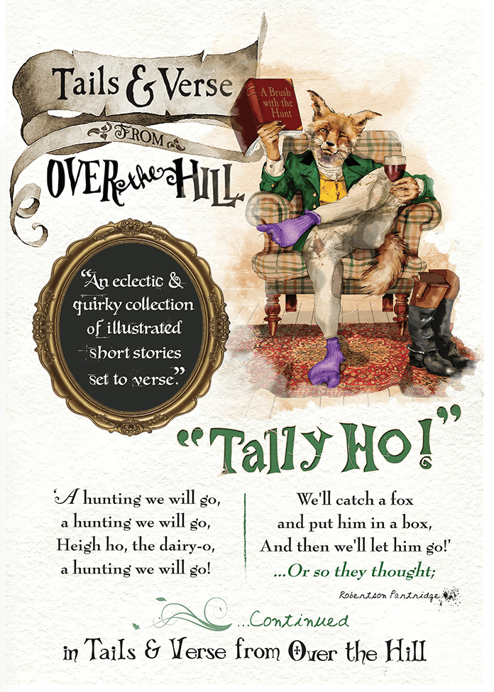 Tails and verse from over the hill back